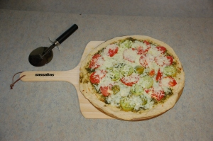 Veggie pizza by Bruce Stambaugh