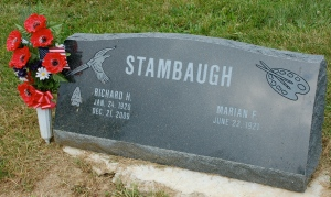 Gravestone by Bruce Stambaugh