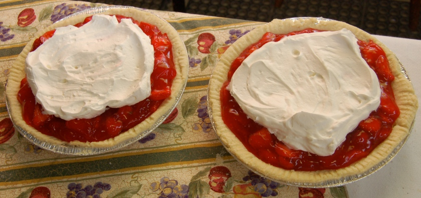 Strawberry pie by Bruce Stambaugh