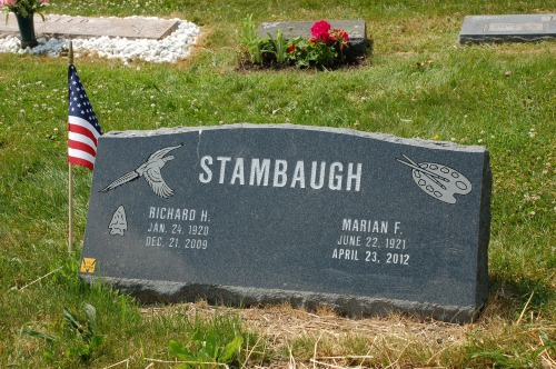 Headstone by Bruce Stambaugh