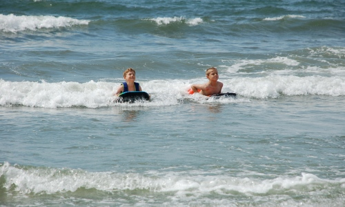 Boogie boards by Bruce Stambaugh