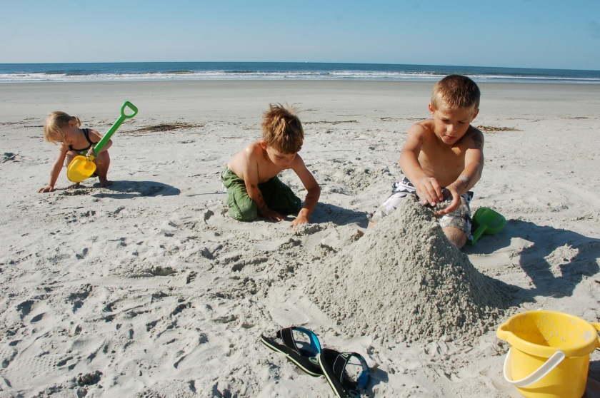 Sandcastles by Bruce Stambaugh