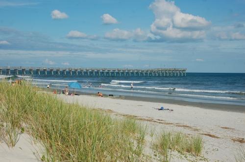 Sunset Beach NC by Bruce Stambaugh