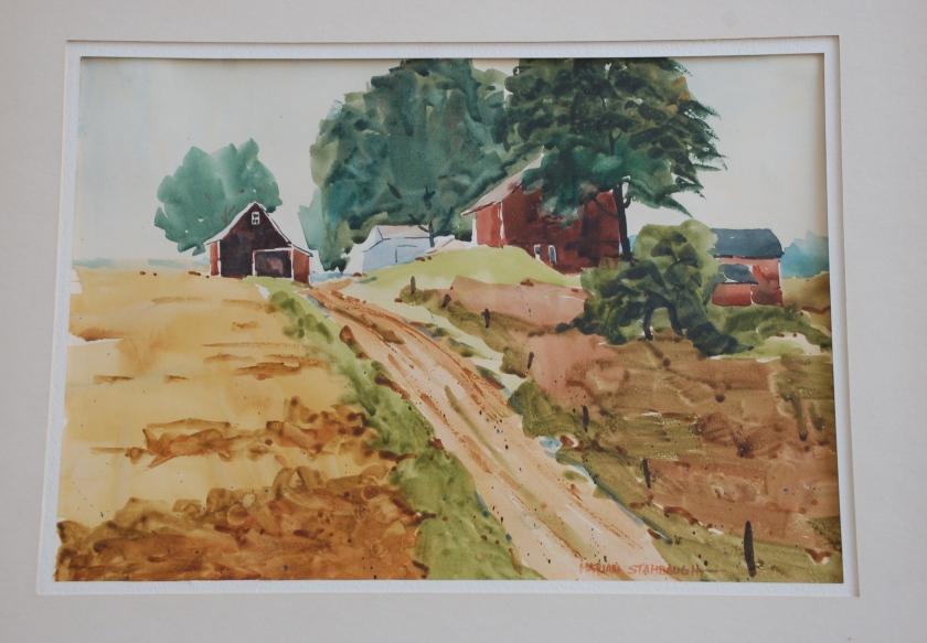 Miller farm by Bruce Stambaugh
