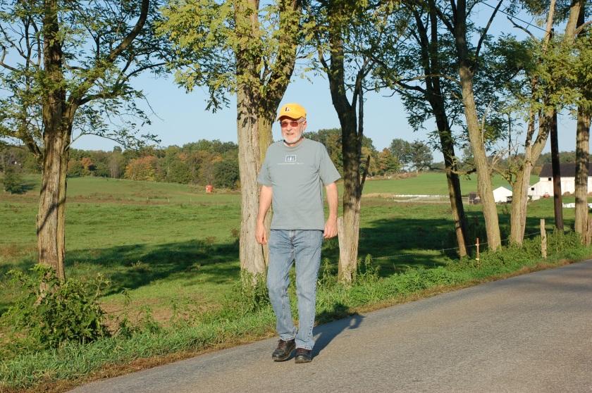 Walking by Bruce Stambaugh