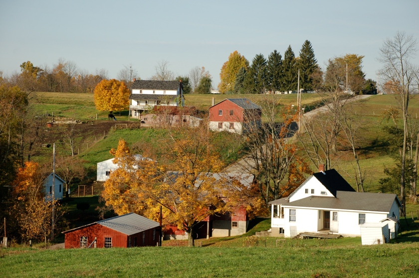Country view by Bruce Stambaugh