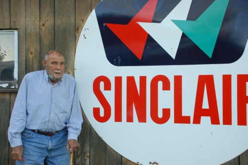 Sinclair signs by Bruce Stambaugh