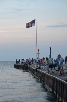 The Lakeside dock is the place to be.