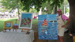 Plein Air Show. © Bruce Stambaugh 2014.