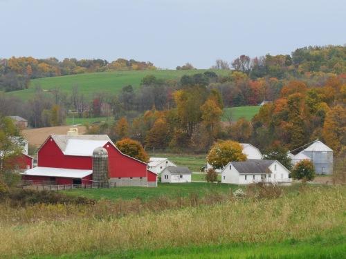 landscape photography, barns, Holmes County Ohio