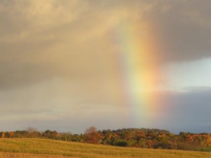 vivid rainbow, short rainbow, Bruce Stambaugh