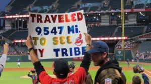 Indians fans, Cleveland Indians, Bruce Stambaugh