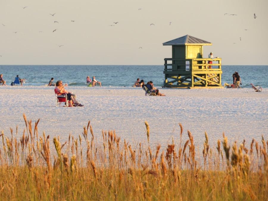 sunset, Siesta Key Beach, Sarasota Florida