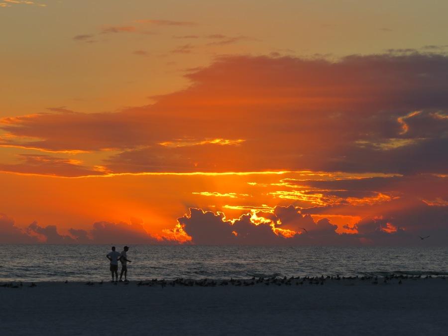 sunset, Siesta Key Beach Florida