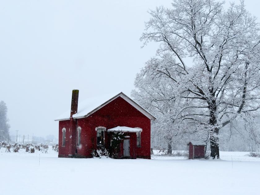 one room school, little red schoolhouse, abandoned school