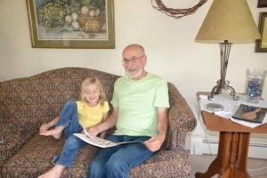 reading to children, reading
