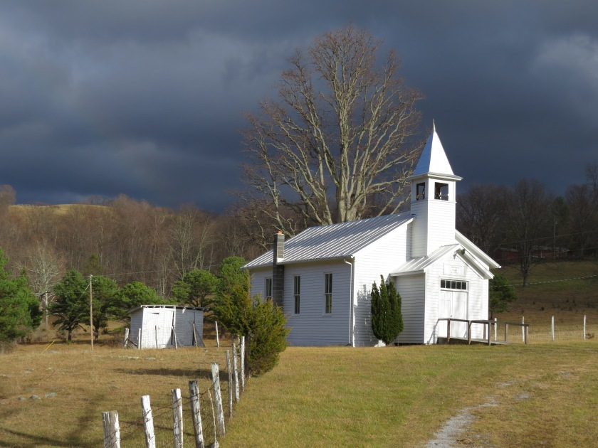 Chapel at Judy Gap, country church, chapel