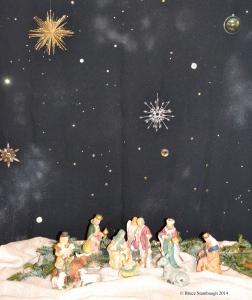 nativity scene, Christmas, hope