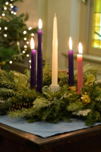 advent candles, Christmas decorations