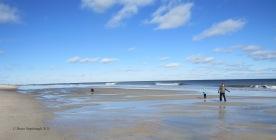 low tide, Atlantic Ocean