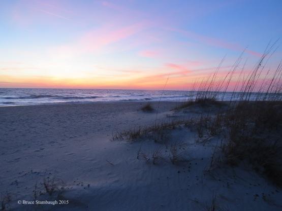 Dawn's early light. © Bruce Stambaugh 2015