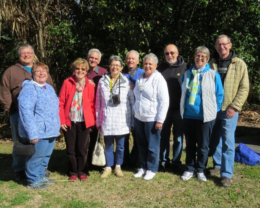 gathering of friends, Fernandina Beach FL