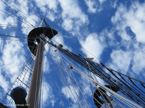 tall ship, peacemaker, abstract photography