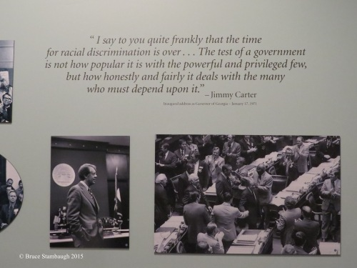 Jimmy Carter quote, Bruce Stambaugh