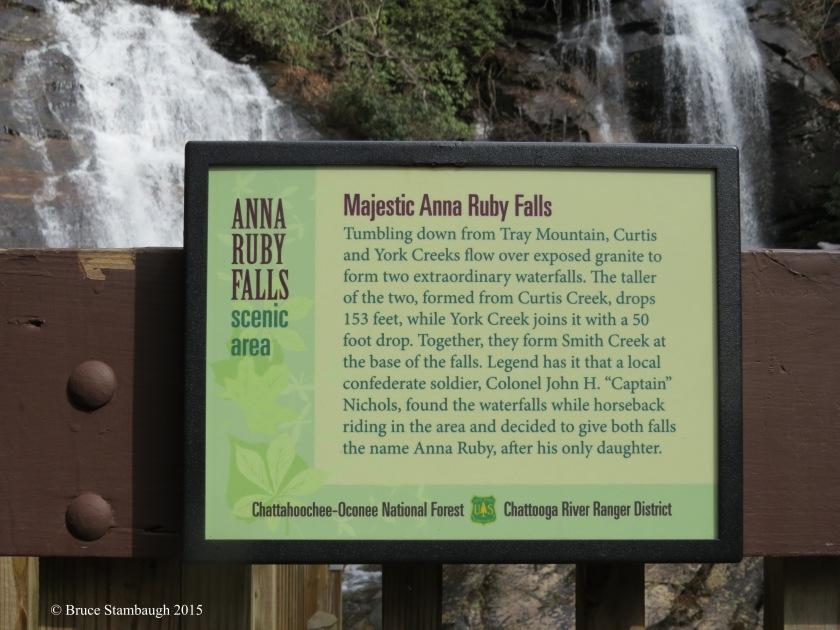 Anna Ruby Falls plague