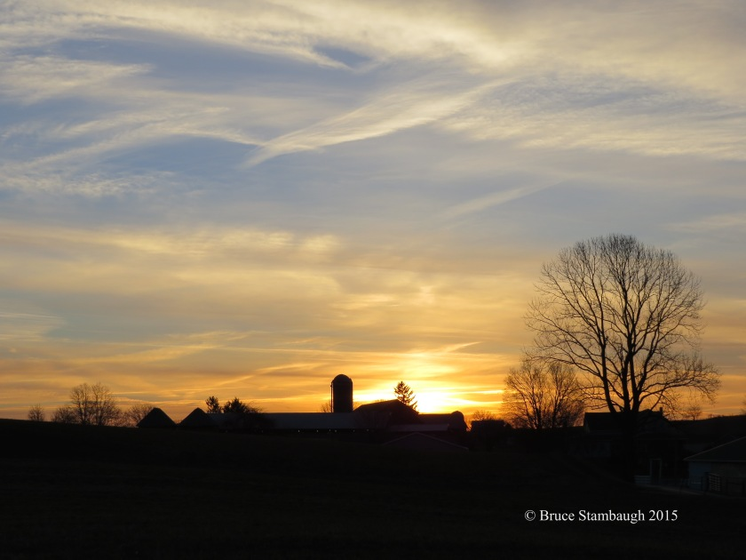 spring sunrise, April sunrise
