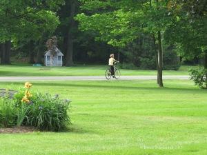 Amish, Amish boy, bicycle