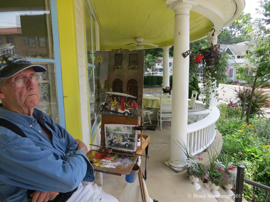 Jim White, plein air art