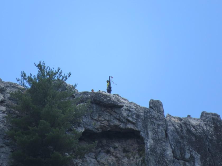 summit Seneca Rocks