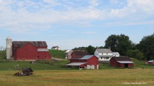 Amish farm, details