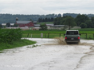 July flash flooding, Holmes Co. OH