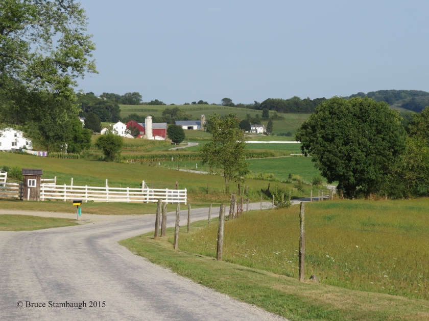 Amish farms, Holmes Co. OH