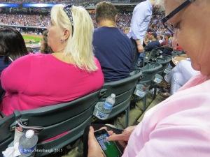 baseball fan, Cleveland Indians