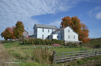 farmstead, Ohio's Amish country