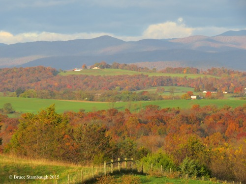 autumn in Virginia, landscape
