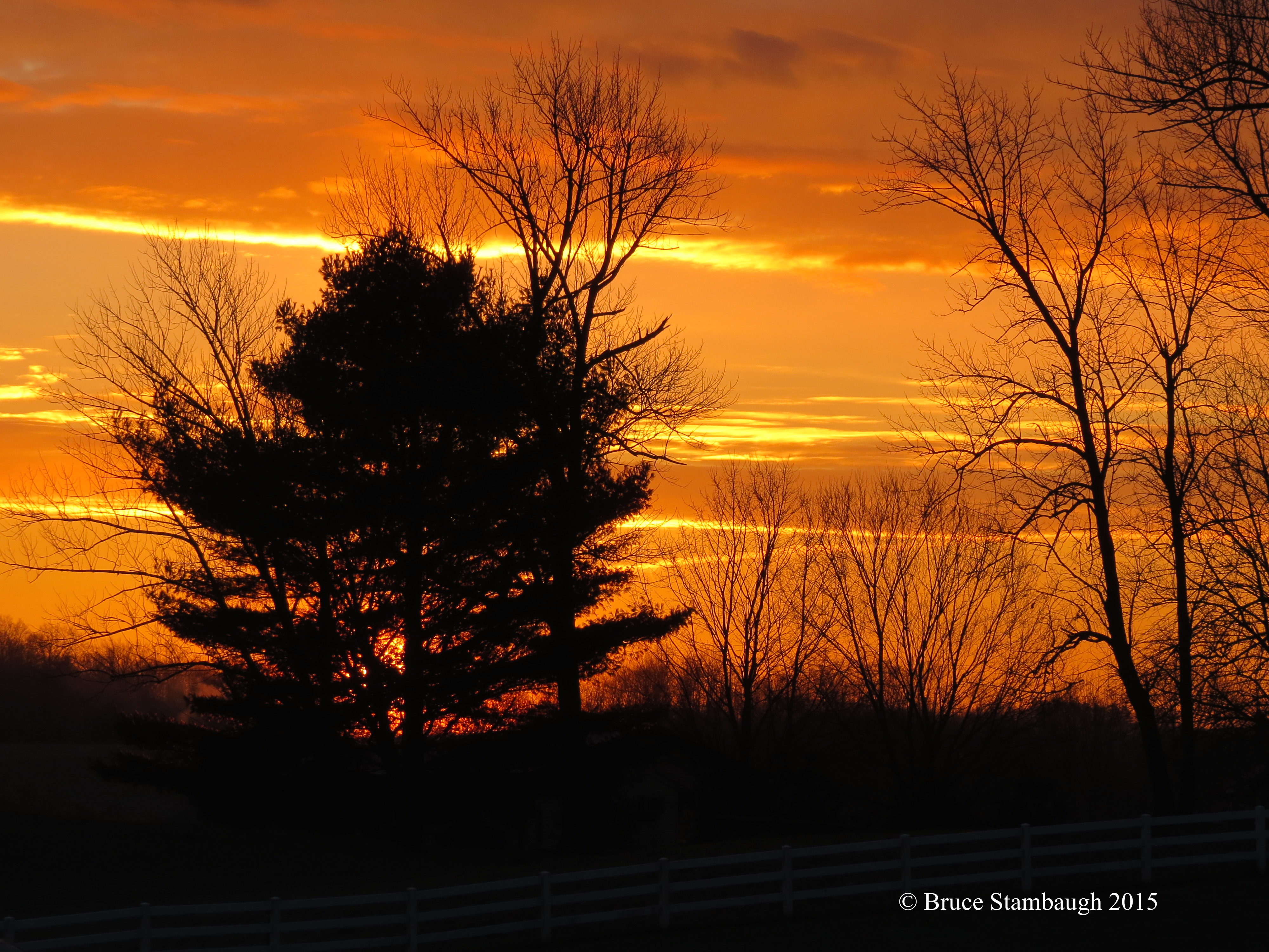 sunrise, November