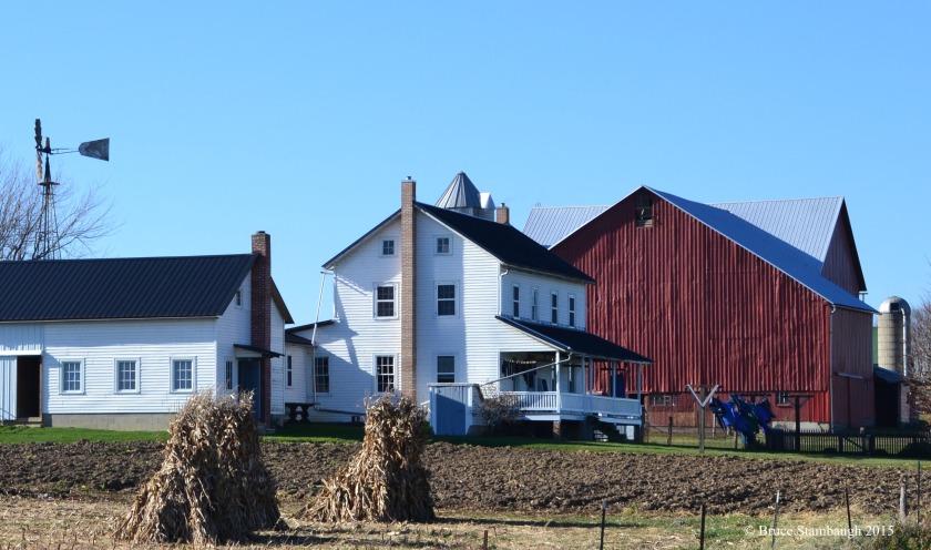 Amish farm, wash day