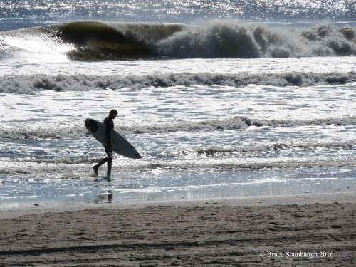 surfer, Atlantic Ocen