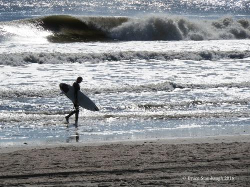 surfer, Atlantic Ocen