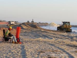 beach construction