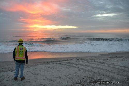 sunrise, Atlantic Ocean