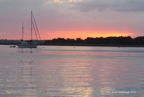 sunset, Fernandina Beach fL