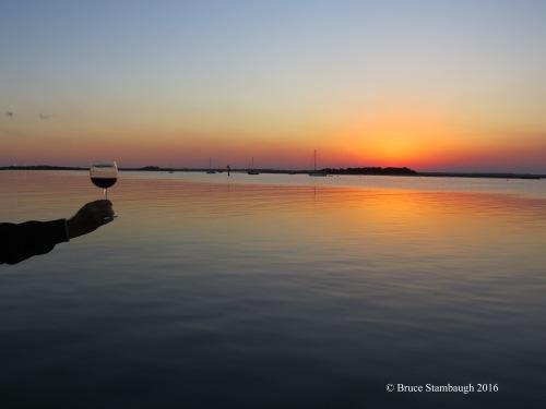 sunset, cheers