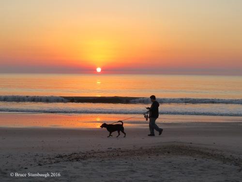 smartphones, beautiful sunrise