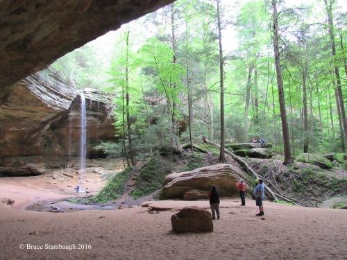 Ash Cave, Logan OH