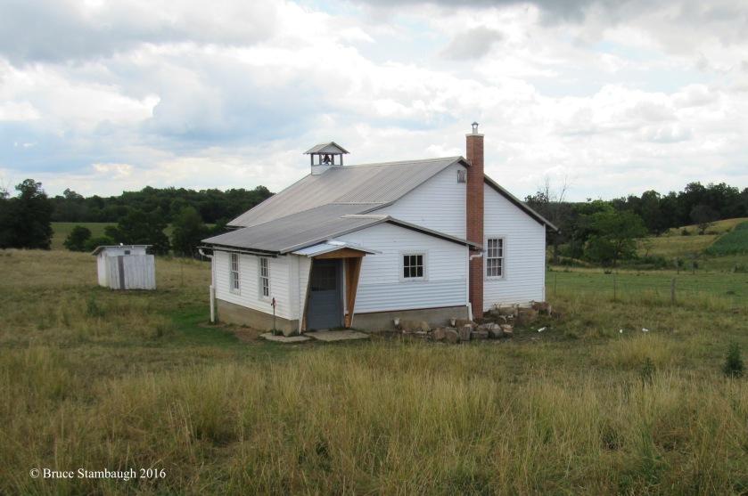 sheep, Amish school